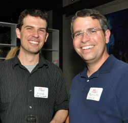 Urban Dictionary's owner and former Google employee Aaron Peckham with Google's former head of penalties Matt Cutts